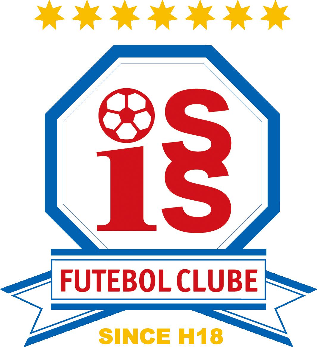 ISS.F.Cサッカークラブロゴマーク